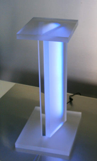 lautsprecher aus acryl acrylic high end speakers plexiglas speakers fichtner. Black Bedroom Furniture Sets. Home Design Ideas